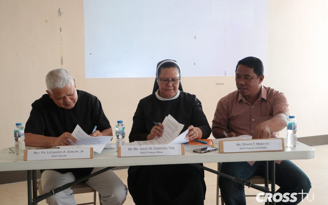 HCDC inks MOA with Archdiocese of Davao for Sagop Kinabuhi Program 2